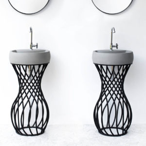 ConSpire Twin Design Betonnen Wasbakken